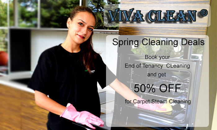 End of tenancy cleaning - 50% OFF carpet steam cleaning